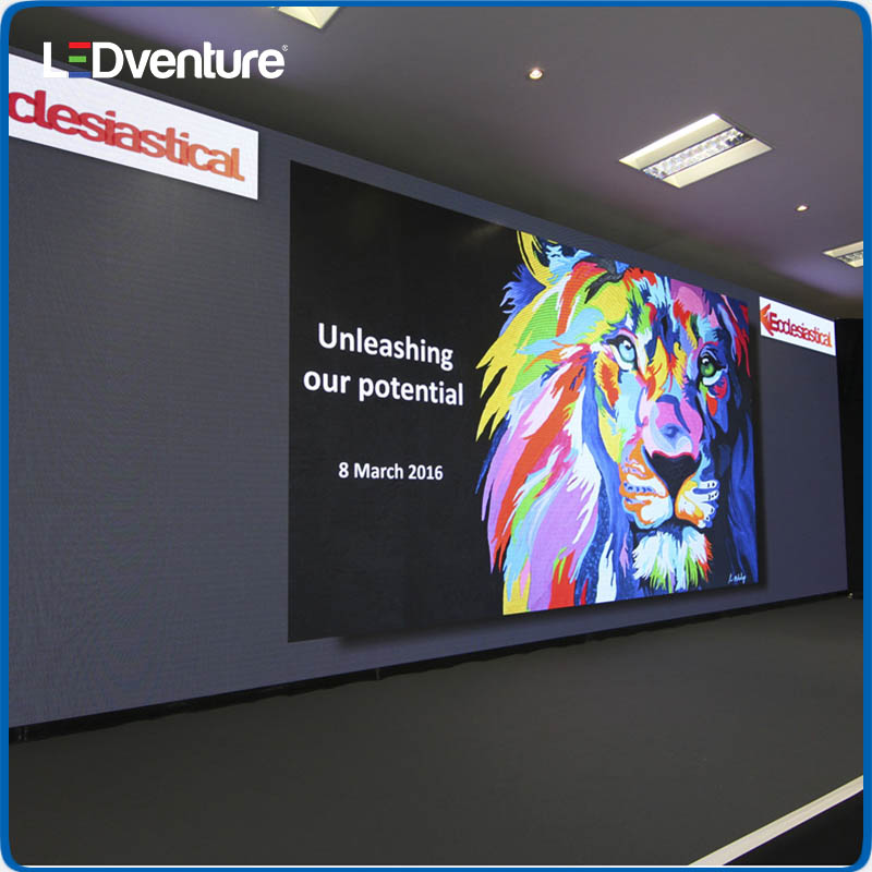 Indoor full color HD resolution led display