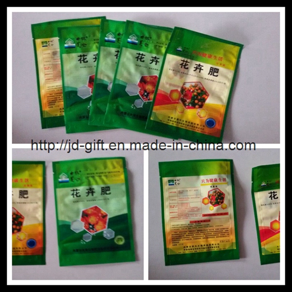 customzied colorful printing seed plastic package bag
