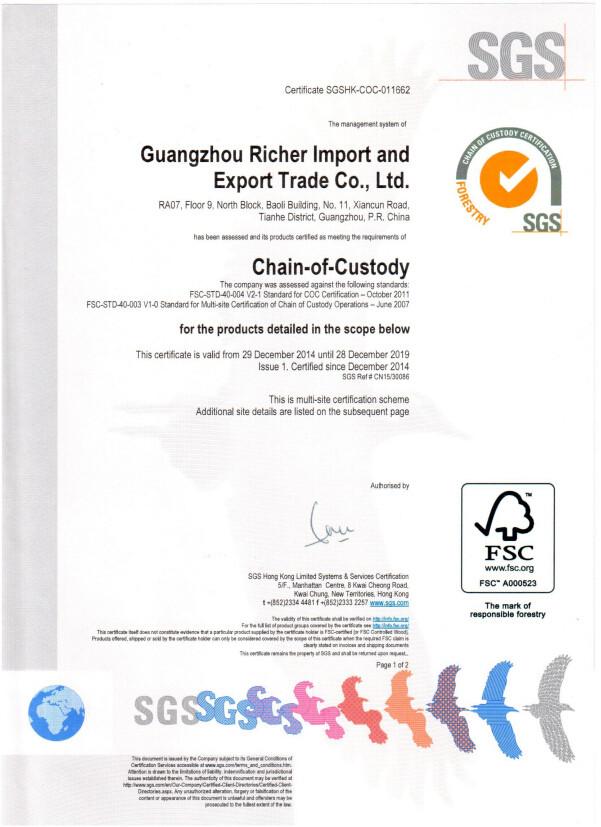 FSC Certificate-page1