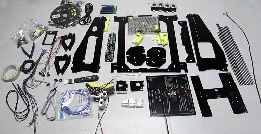 Packing List of RAISCUBE R3 3D Printer