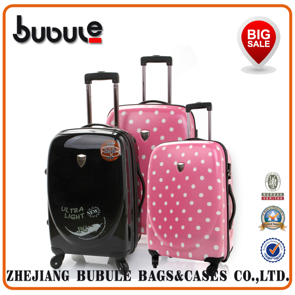 BUBULE 2015 trolley luggage,polo trolley luggage,travel trolley luggage bag