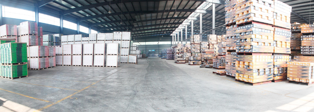 Warehouse of Laminated Flooring Plant