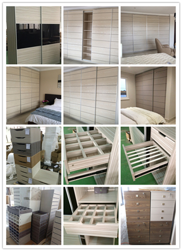 Top hung sliding door wardrobe project