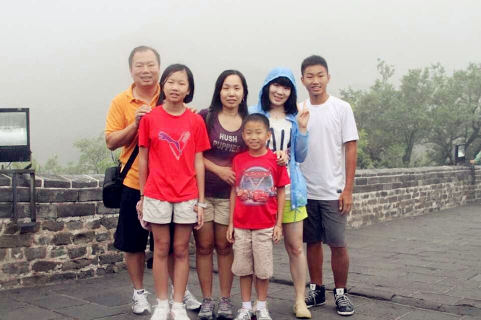 Malaysia client family to Beijing tour, we have a very good friend.