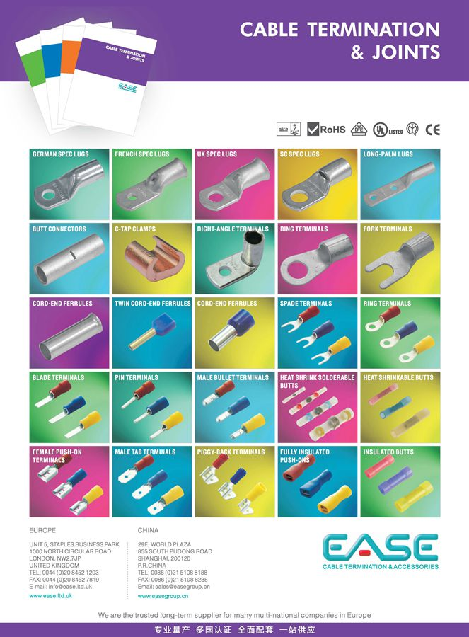 Cable Terminations & Joints