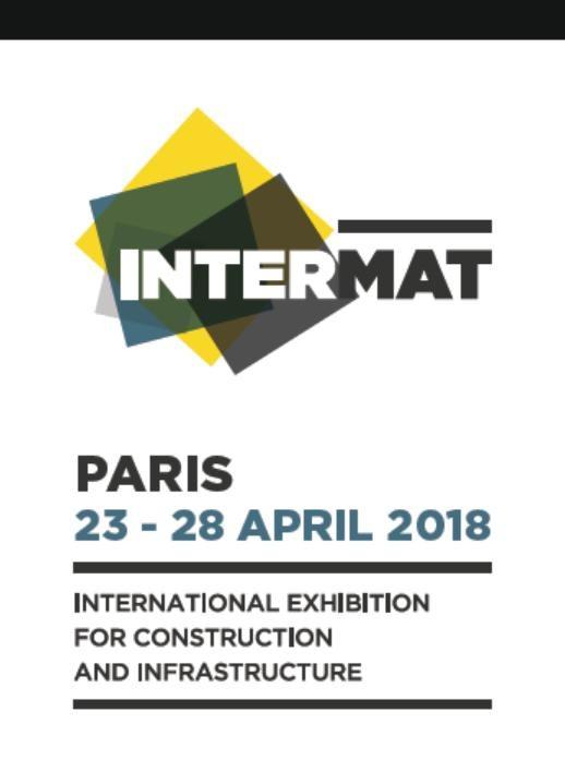 Intermat Paris 23-28.April.2018