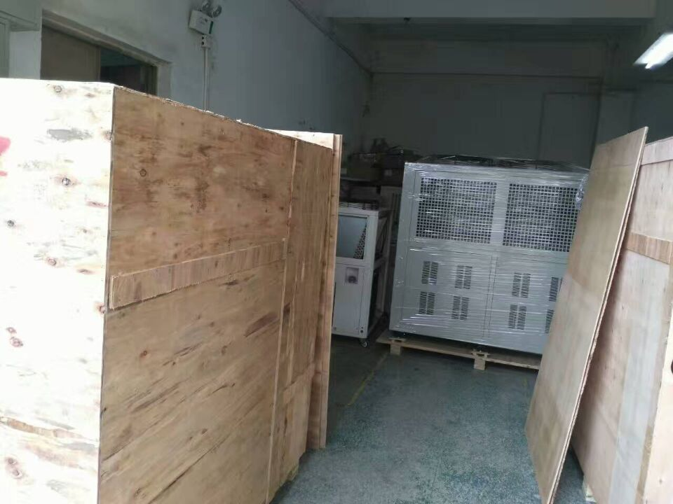 15Ton Air cooled water chiller packaged and ready to delivery Singapore