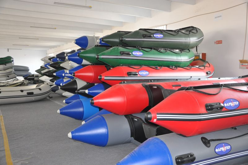 Liya inflatable boat workshop