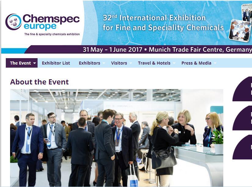 Chemspec Europe 2017