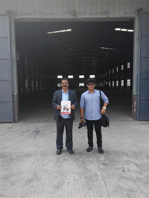 customer visit our fatory