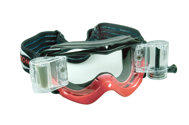 Motorcross Goggles with roll off system