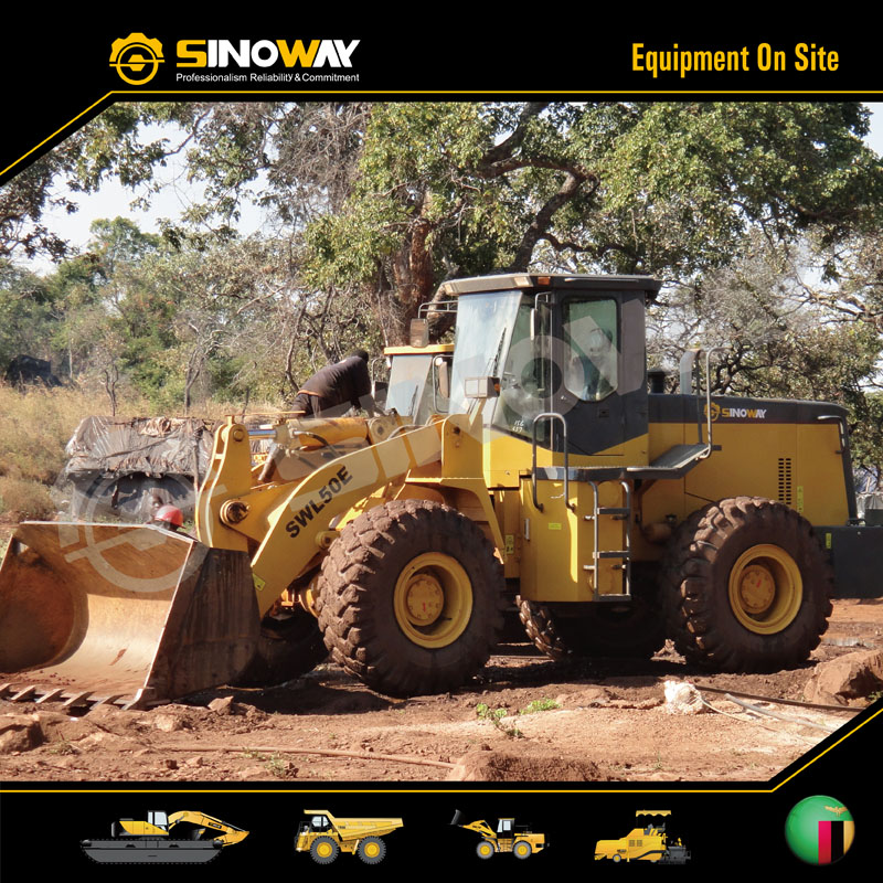 Sinoway Wheel Loader in Southern Africa