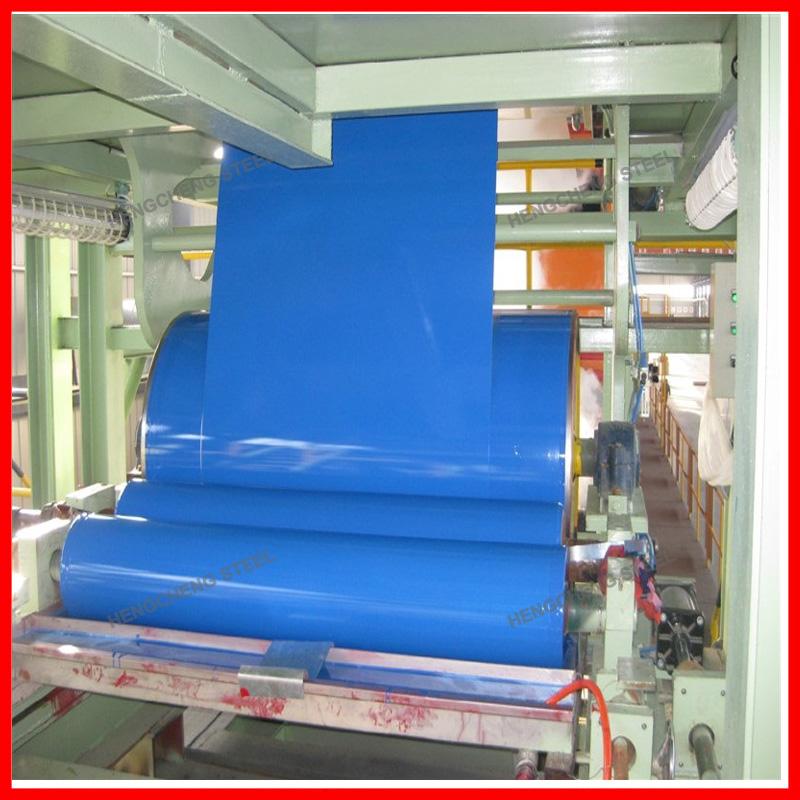Prepainted Steel Coils Production Line