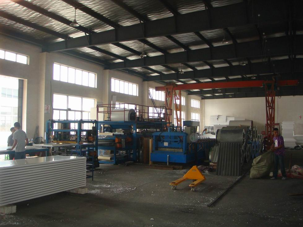 Steel frame workshop