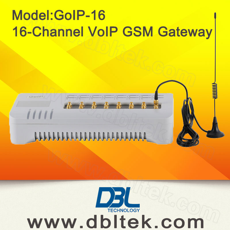 Dbl 16 Channel GSM Gateway with 16 SIM Card/SIP Gateway GoIP 16