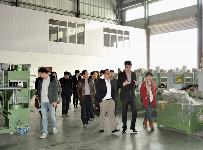 Goverment and report inspection our factory