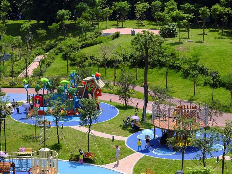 children outdoor park playground