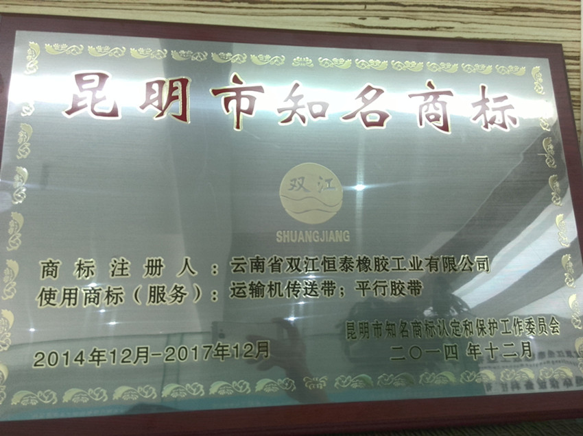 Trademark with Reputation in Kunming City