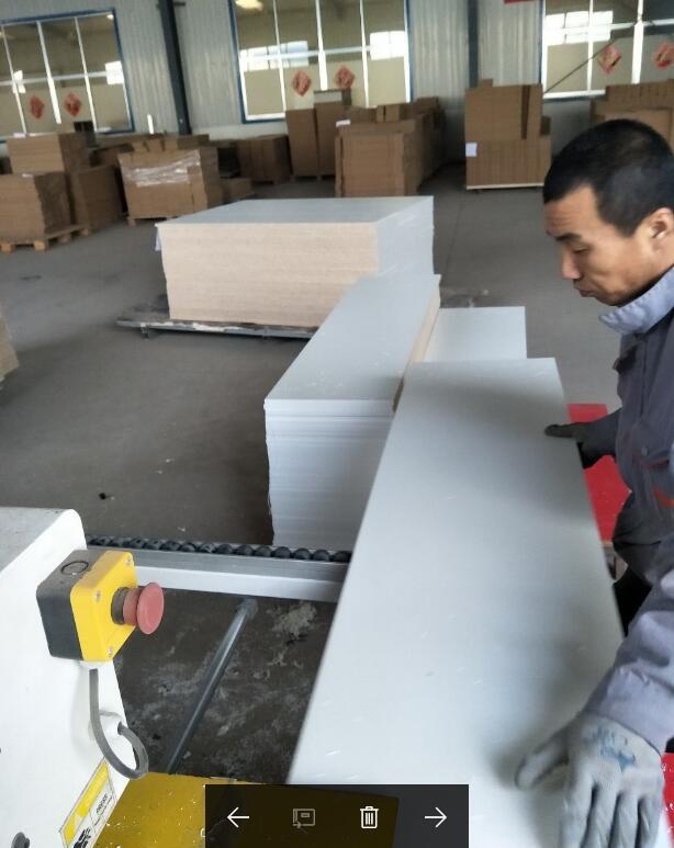 Cutting Big Board for workshop