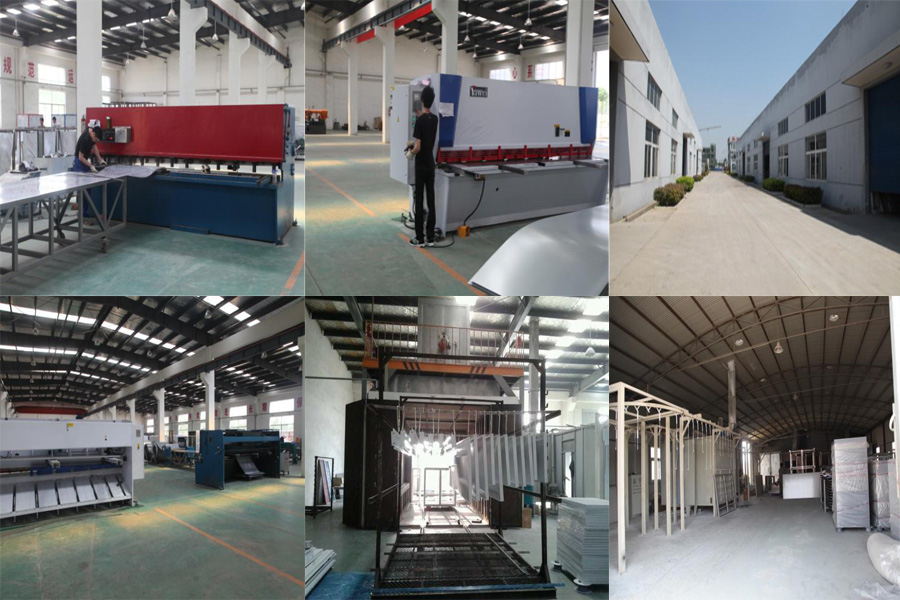 Workshops of JZJ Spray booth manufacturer