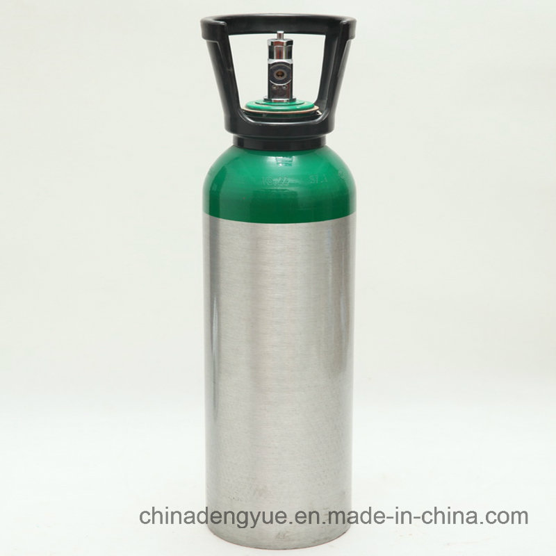Aluminum Oxygen Tank with Qf-2 Valve High Pressure