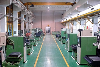 CNC Brass wire cut machine workshop1