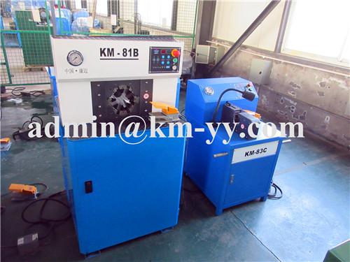 hose crimping machine KM-81B
