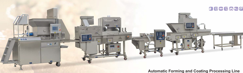 Automatic Forming and Coating Processing Line