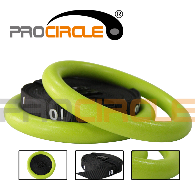Heavy Duty Crossfit Exercise Fitness Gymnastic Rings (PC-GR1002)