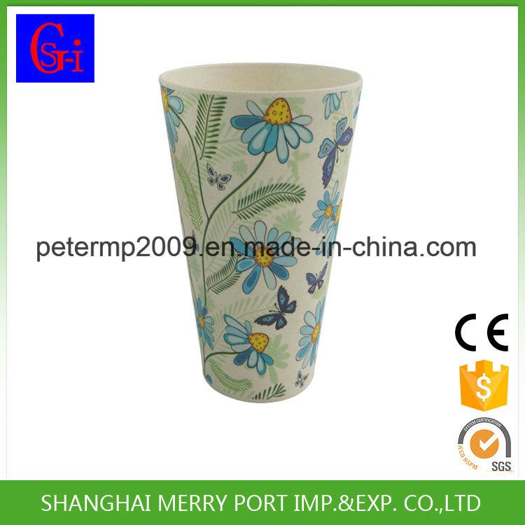 Bamboo Fiber Durable Design Bio-Degradable English Tea Cup