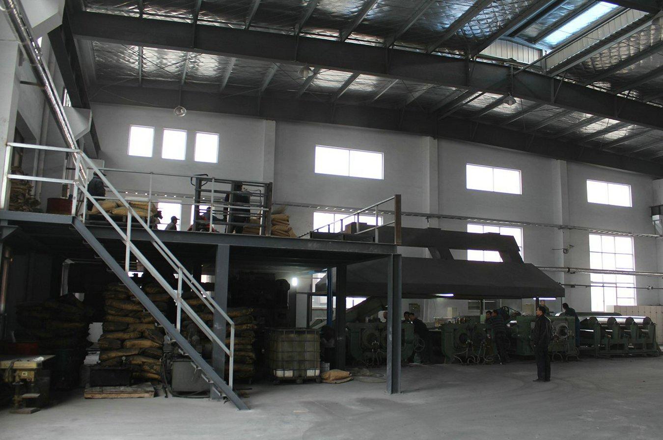 PVC backing sheet