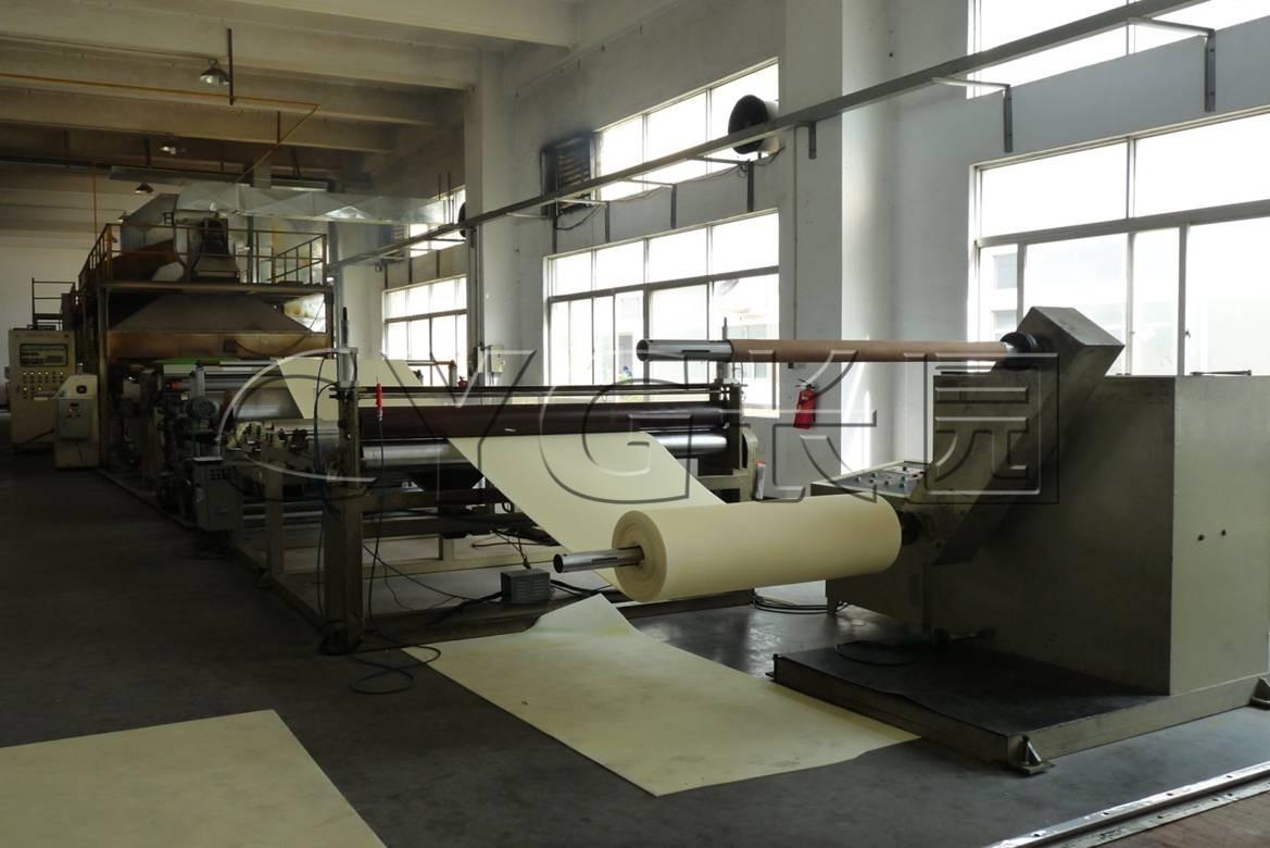 CYG foaming workshop