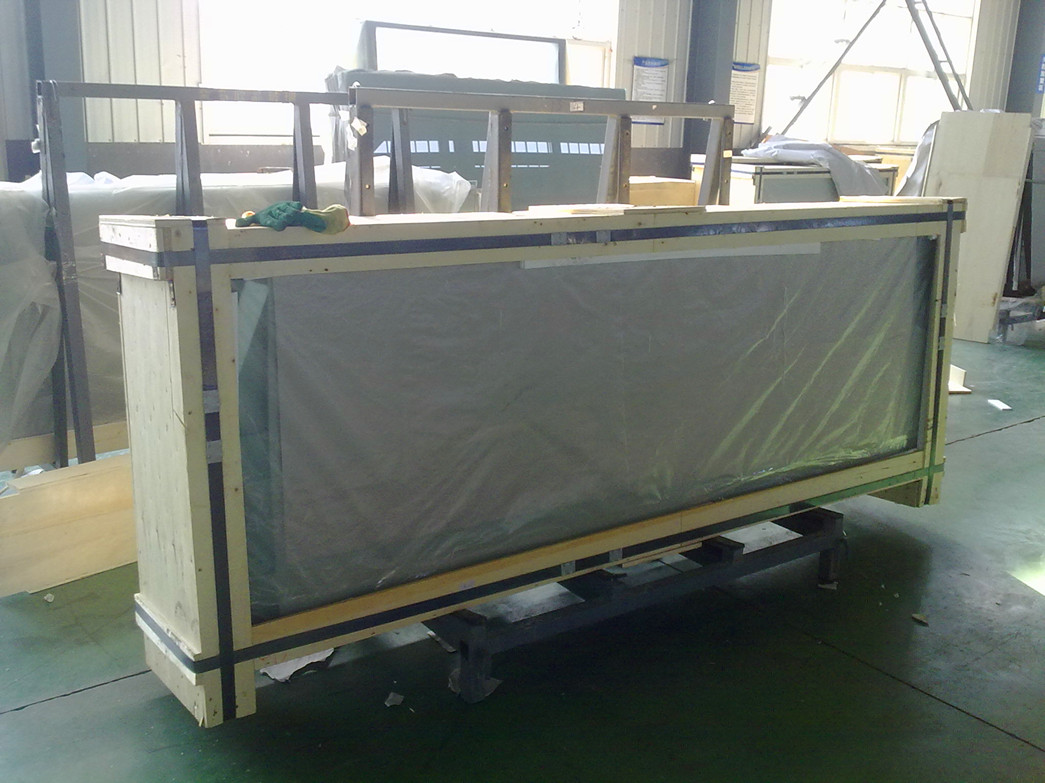 Packing for tempered glass door