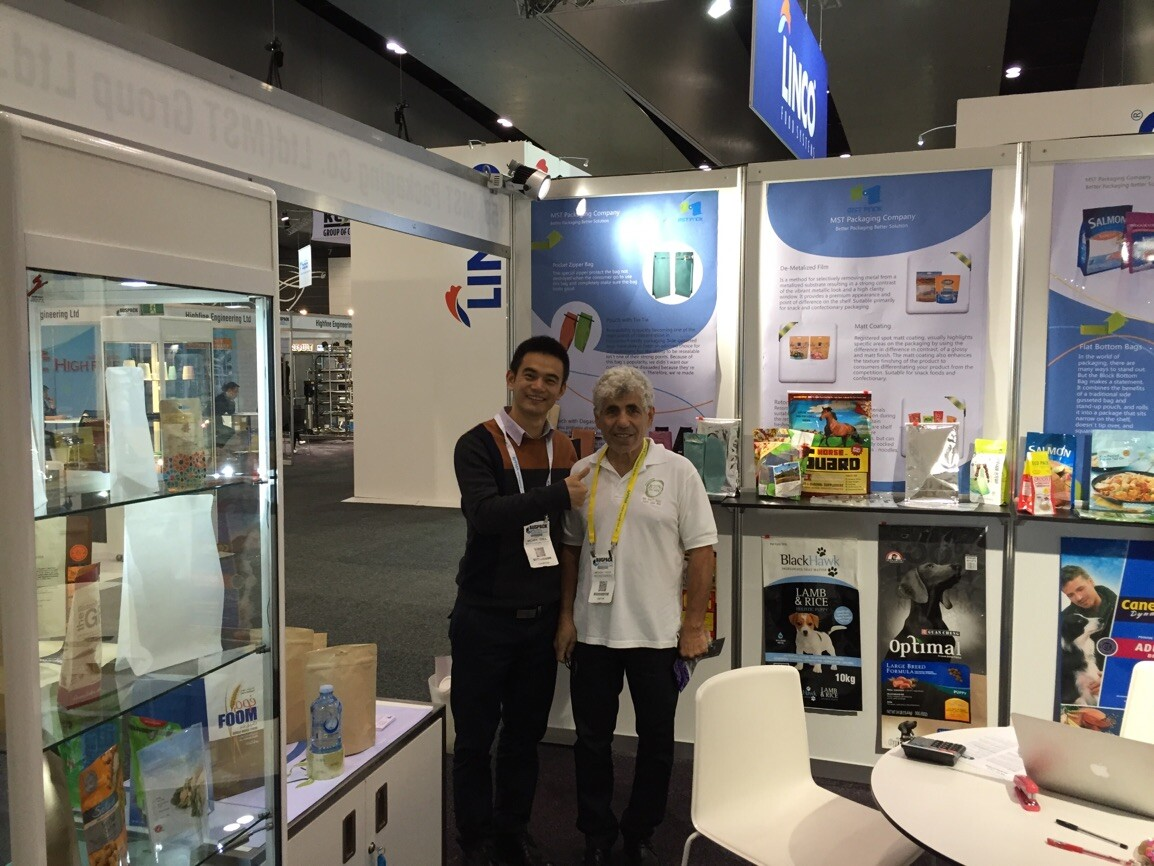 2015 Australian Packaging Exhibition---Michael & Anthony