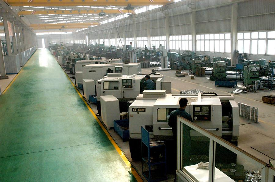 Fine machining area