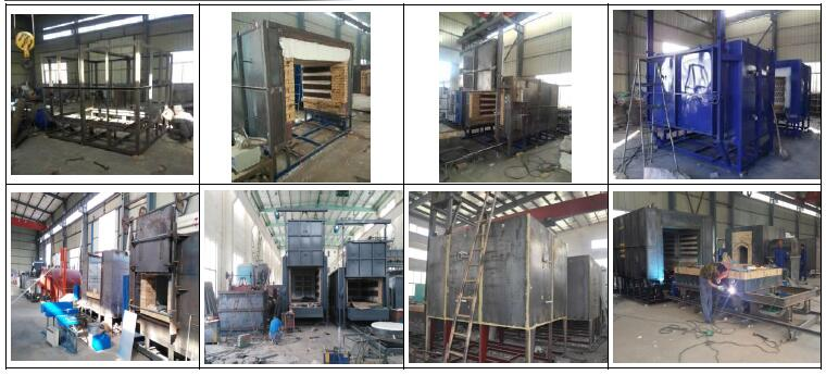 Resistance Heat Treatment Furnace Producing