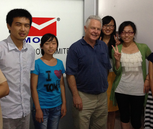Australia Customer with Our Sales Team