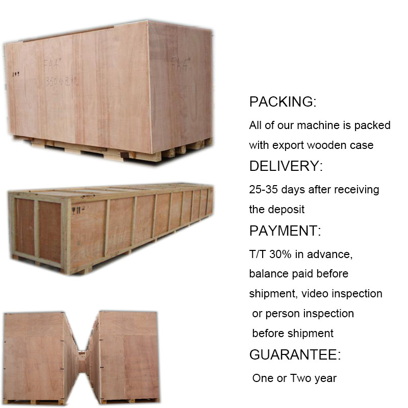 Package in wooden case