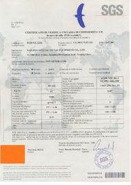 Certificates of PED Certificate for Pressure Vessel Production