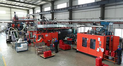 Guangzhou Rodman Plastics Company - Cooler Division - Blow Moulding Area