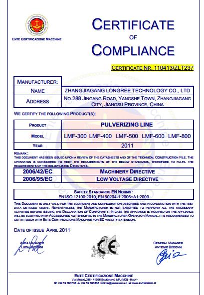 CE certification plastic pulverizer
