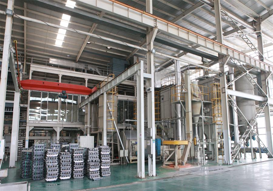 HIGH VOLUME LEAD POWDER SYSTEM