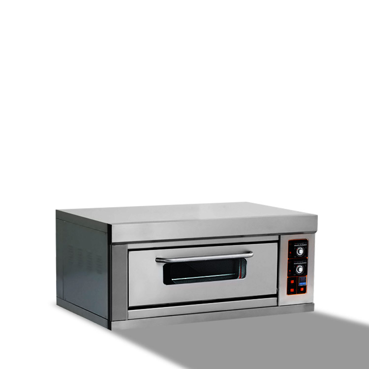 single-layer two tray gas oven