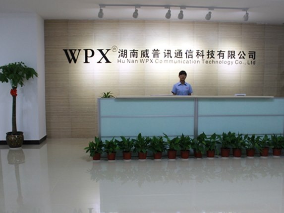 Company reception desk
