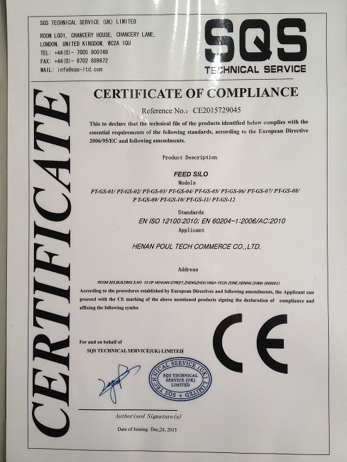 CERTIFICATE OF COMPLAIANCE