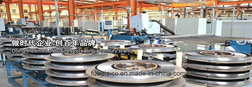 Our plant for band saw blade