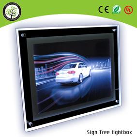 LED Acrylic Crystal Lightbox