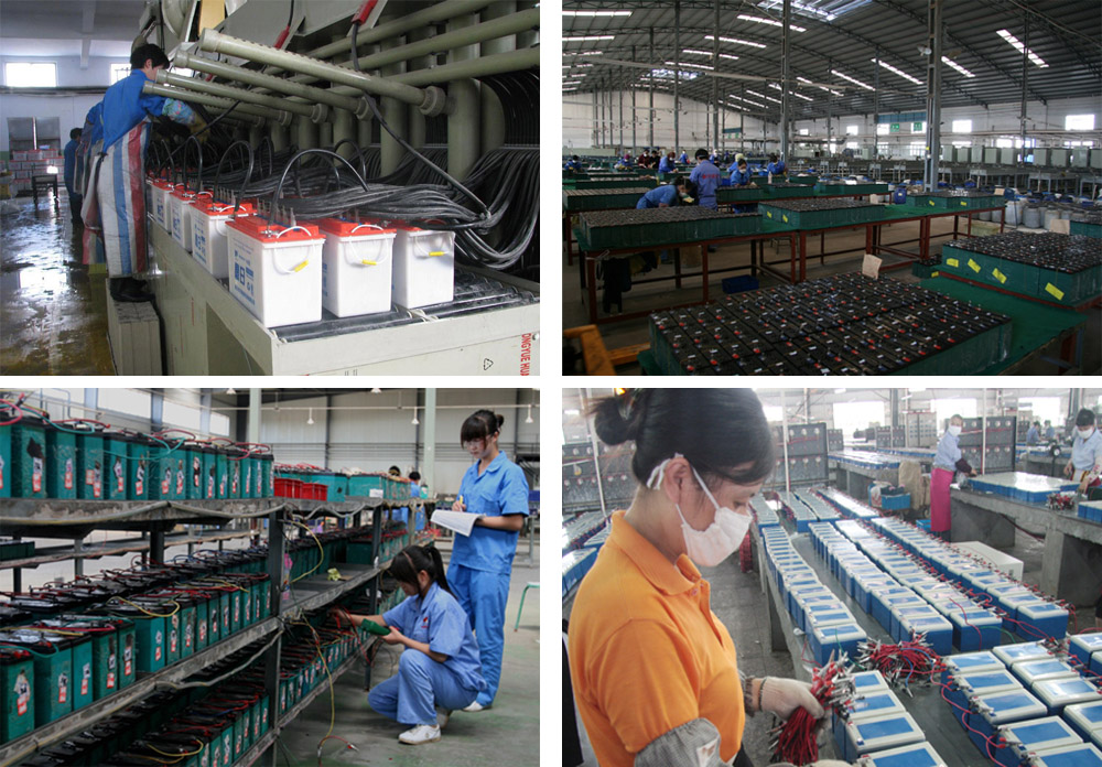Battery Factory in Huizhou