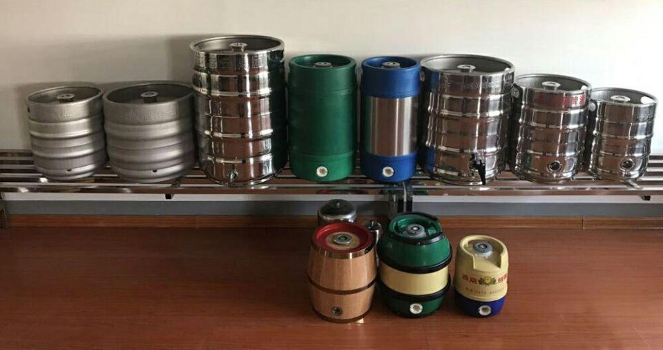 304 stainless steel beer keg and plastic beer keg