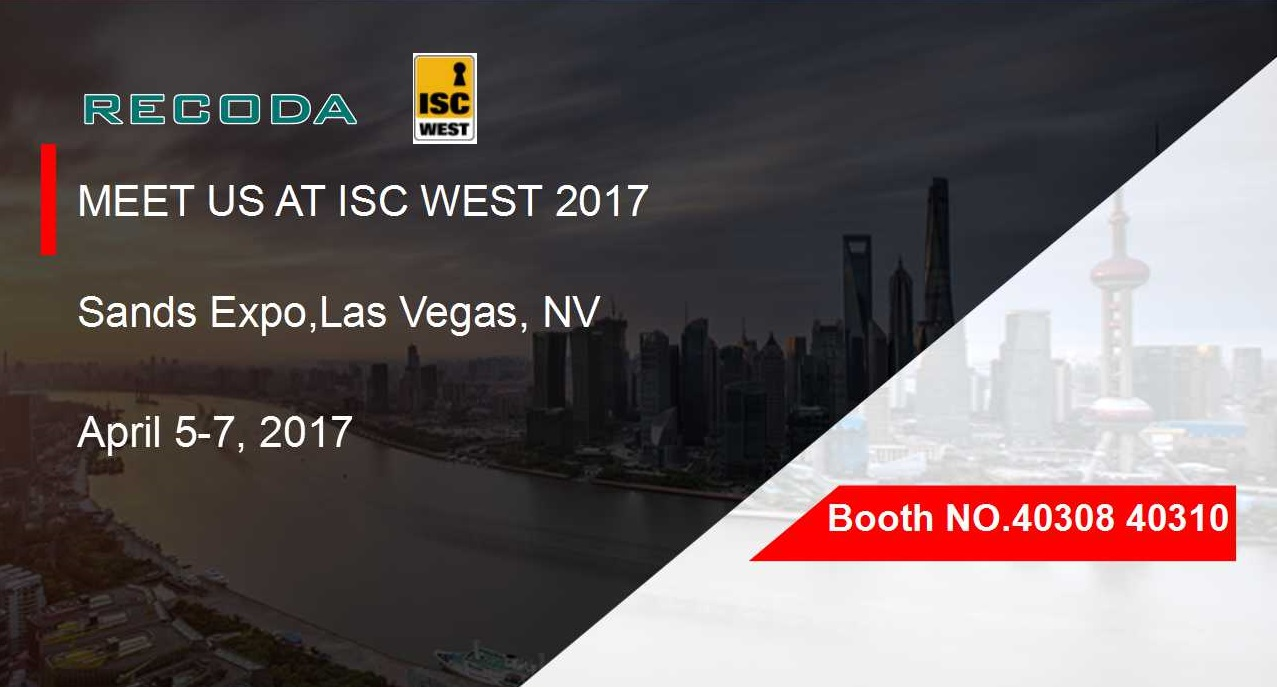 MEET RECODA at ISC WEST 2017 In LAS Vegas
